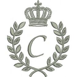 Coroa com Louros C