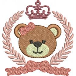 Ursinho com Louros e Coroa 04