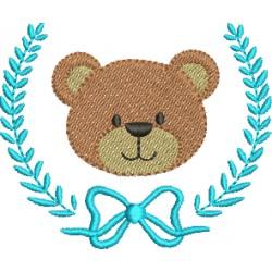 Ursinho com Louros e Laço