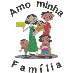 Amo Minha Família - Grande