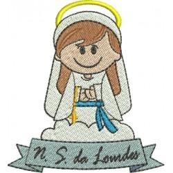Nossa Senhora de Lourdes - Três Tamanhos