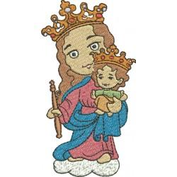 Nossa Senhora Auxiliadora 05 - Três Tamanhos