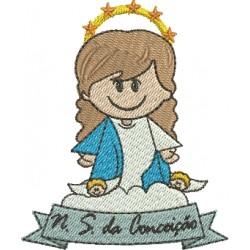 Nossa Senhora da Conceição 03 - Três Tamanhos