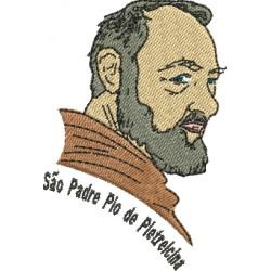 São Padre Pio de Pietrelcina - Três Tamanhos