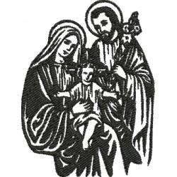 Sagrada Família 03 - Três Tamanhos