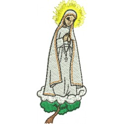 Nossa Senhora de Fátima 02 - Três Tamanhos