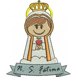 Nossa Senhora de Fátima 04 - Três Tamanhos