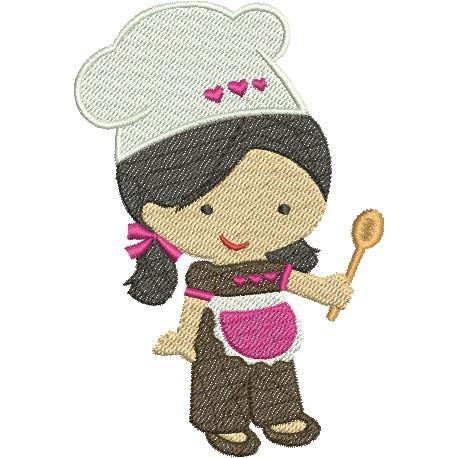 Cozinheira 05 - Médio