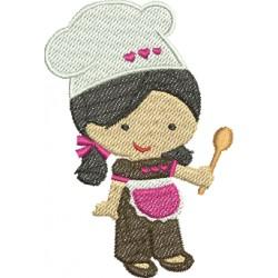 Cozinheira 05 - Pequeno