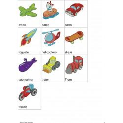 Pacote de Bordados Brinquedos de Meninos