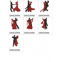Pacote de Bordados Dançarinos