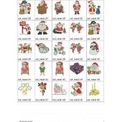 Pacote de Bordados Natal 02