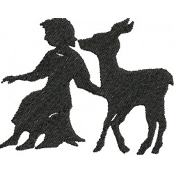 A Mulher e o Veado