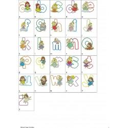 Alfabeto Anjinha Completo (A-Z)