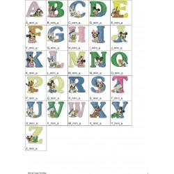 Alfabeto Mickey Mouse Completo (A-Z)