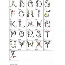 Alfabeto Flores Completo (A-Z)