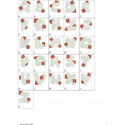 Alfabeto Nuvem Completo (A-Z)