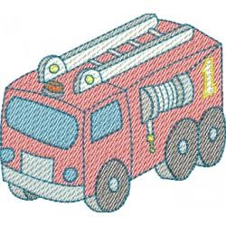 Caminhão de Bombeiro - Fralda