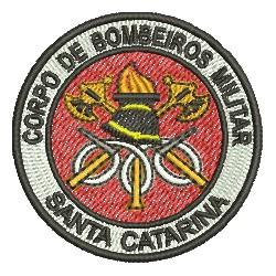 Bombeiros Santa Catarina - Máscara