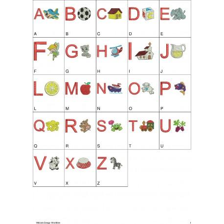 Alfabeto Leitura - 23 Letras