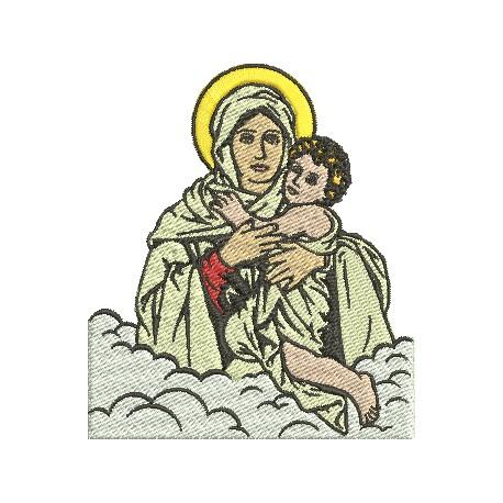 Mãe Rainha - Três Tamanhos