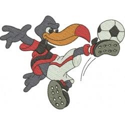 Mascote Flamengo - Três Tamanhos