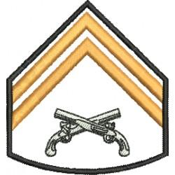 Divisa Cabo Polícia Militar Sem Fundo