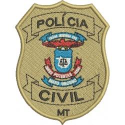 Brasão Polícia Civil de Mato Grosso
