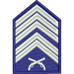 Divisa 1º Sargento PMESP - Com Fundo