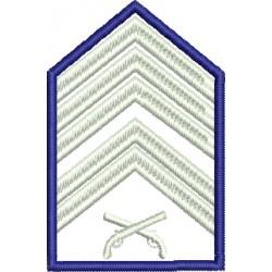Divisa 1º Sargento PMESP - Sem Fundo