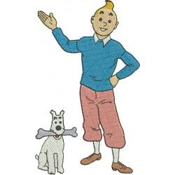 Tintin 03 - Três Tamanhos