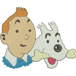 Tintin 04 - Três Tamanhos