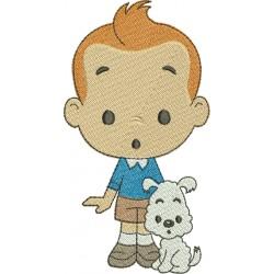 Tintin 08 - Três Tamanhos