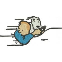 Tintin 09 - Três Tamanhos