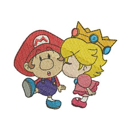 Super Mario Baby e Princesa Peach Baby