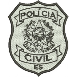 Polícia Civil do Espírito Santo - Preto e Branco