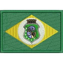 Bandeira do Esatdo do Ceará - Três Tamanhos