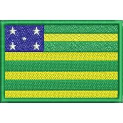 Bandeira do Estado de Goiás - Três Tamanhos
