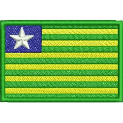Bandeira do Estado do Piauí - Três Tamanhos