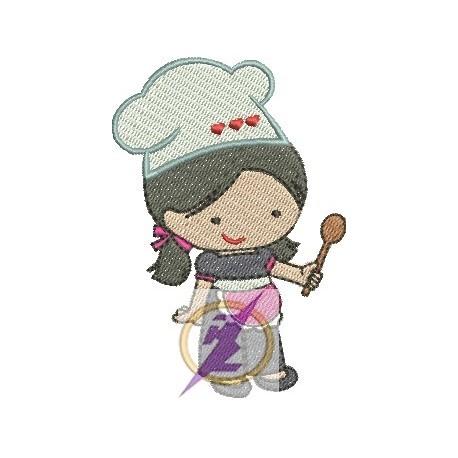 Boneca Cozinheira 01