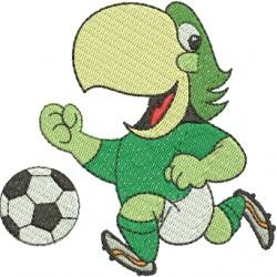 Periquito - Mascote do Palmeiras