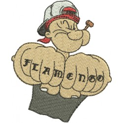 Mascote Popeye