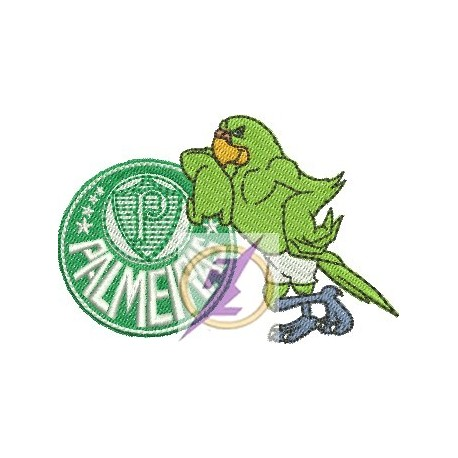 Papagaio Mascote do Palmeiras
