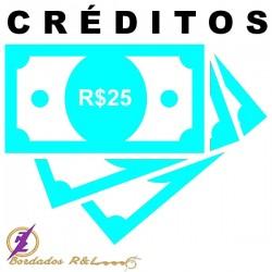 Vale Crédito R$25,00