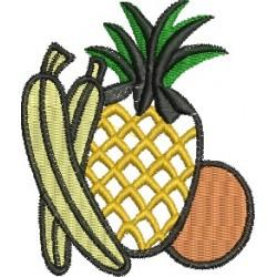 Abacaxi Banana e Laranja