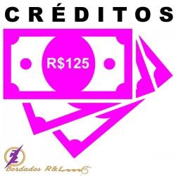 Vale Crédito R$125,00