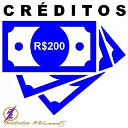 Vale Crédito R$200,00