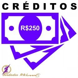 Vale Crédito R$250,00