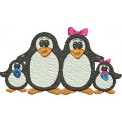 Família de Pinguins 36