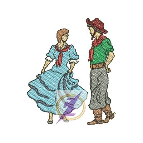 Gaúcho e Prenda 04 - Pequeno